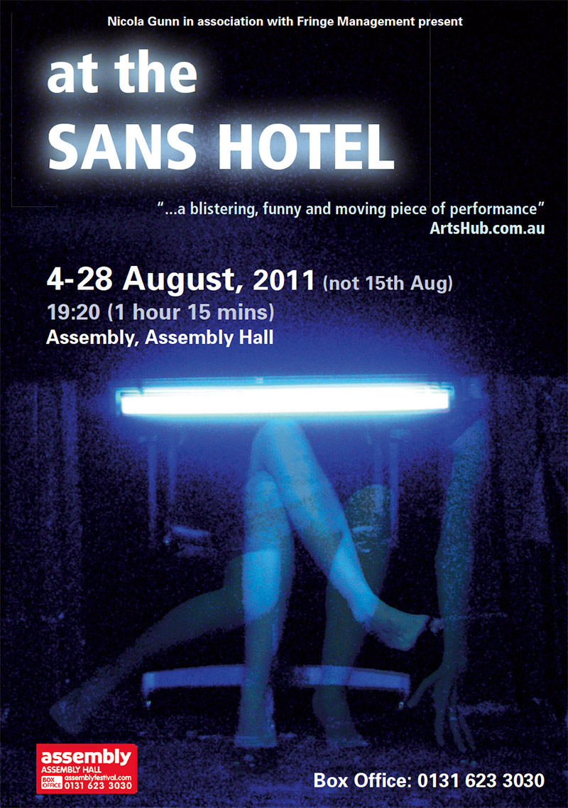 At The Sans Hotel